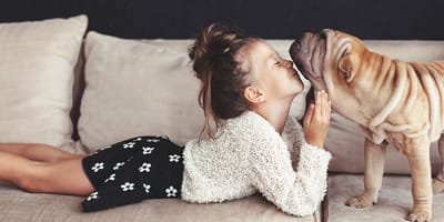 Will your dog live with children?